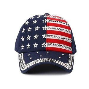 Accessories - USA American Flag Print Baseball Cap